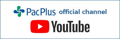 パックプラス オフィシャル Youtubeチャンネル